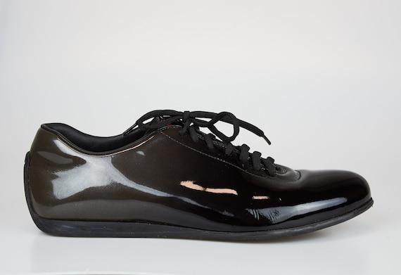 Vintage Prada sneakers lace up Prada shoes Prada b
