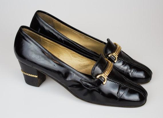 Vintage Gucci moccasins platform mules Gucci clogs