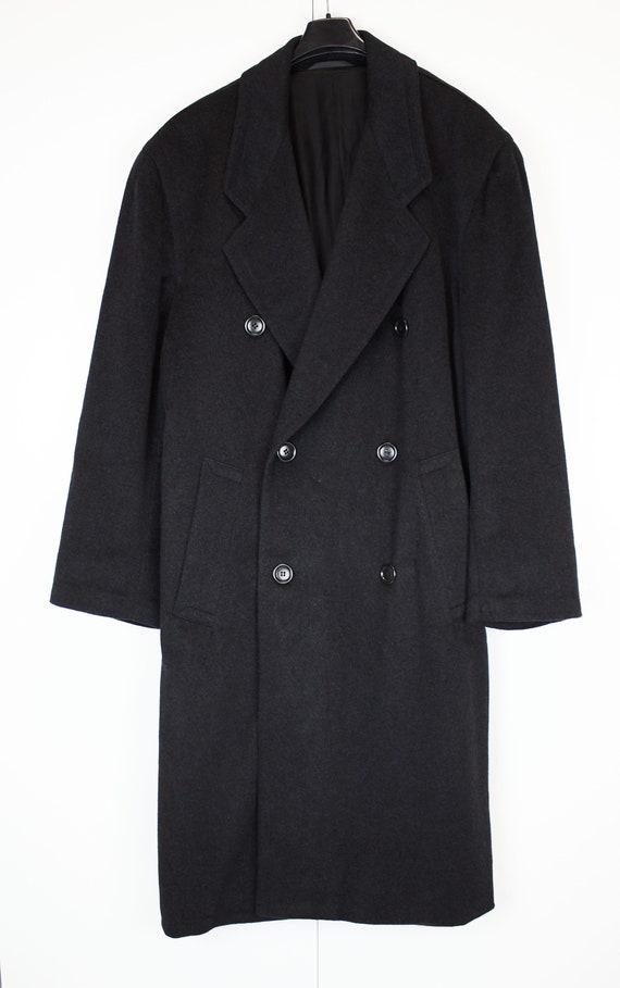 Vintage Boss coat gray cashmere coat XL-XXL Boss b