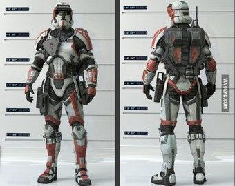 Clone trooper armor | Etsy