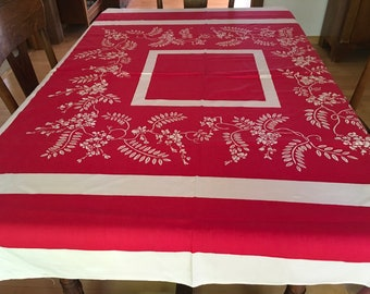Vintage Tablecloth ~ Awesome NOS