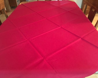 New~Old Stock Vintage Tablecloth w/Paper Tag NICE