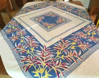 Vintage Fern Tablecloth