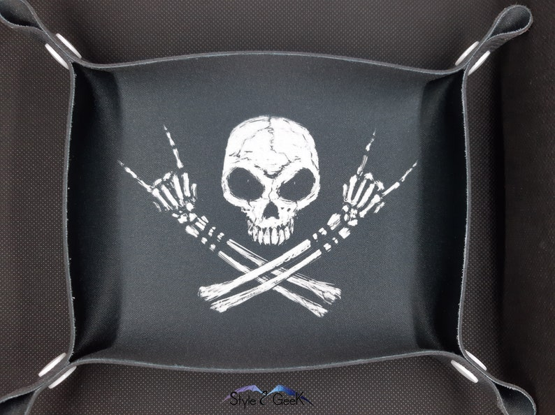 Dice-tray dice track 666 star wars flexible gift geek role-playing and board games transportable by Style2Geek