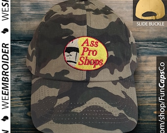 eb286092817ee Ass Pro Shops hat - Bass Pro inspired - Great Fishing Hat!
