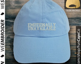 d7352c65160 Emotionally Unavailable Dad Hat