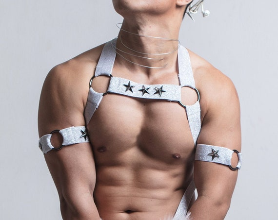 AJ Classic White Snow - Circuit Party Harness