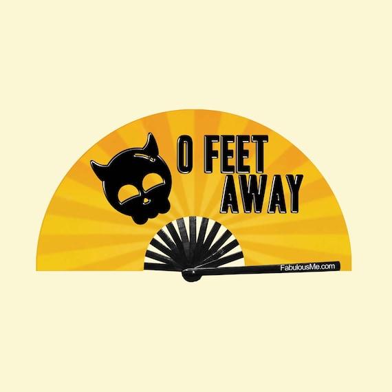 0 Feet Away Fan (UV GLOW) - Circuit Party Fans