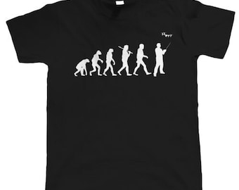 dd60b910 Evolution Of Drone Pilots, Mens Funny T Shirt - Gift for Him Fathers Day T- Shirt Black Cotton S-4XL