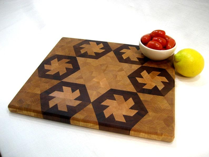 Cutting Board handmadeend grain chopping Boardcheese Boardwalnut,mapleWooden Chopping BoardGiftBread Board.