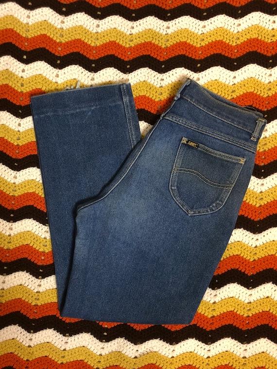 Vintage 70s Lee Blue Jeans
