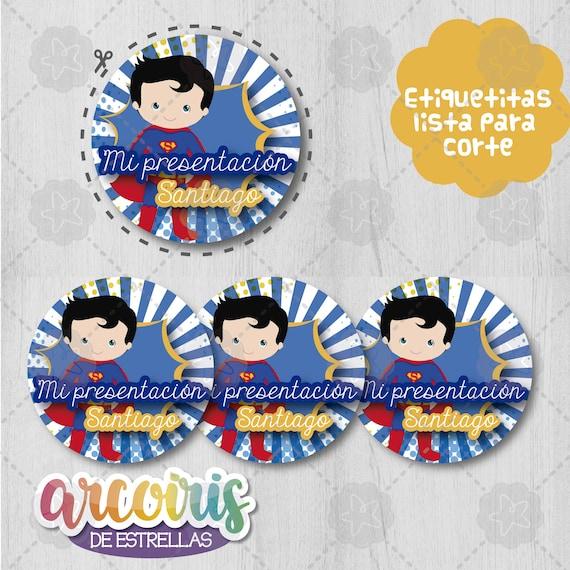 Invitación Superman Niño Printable Invitation Superman Boy