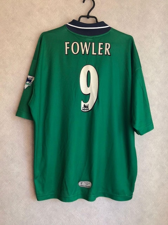 LIVERPOOL ENGLAND 1999  shirt  jersey  FOWLER 9 re