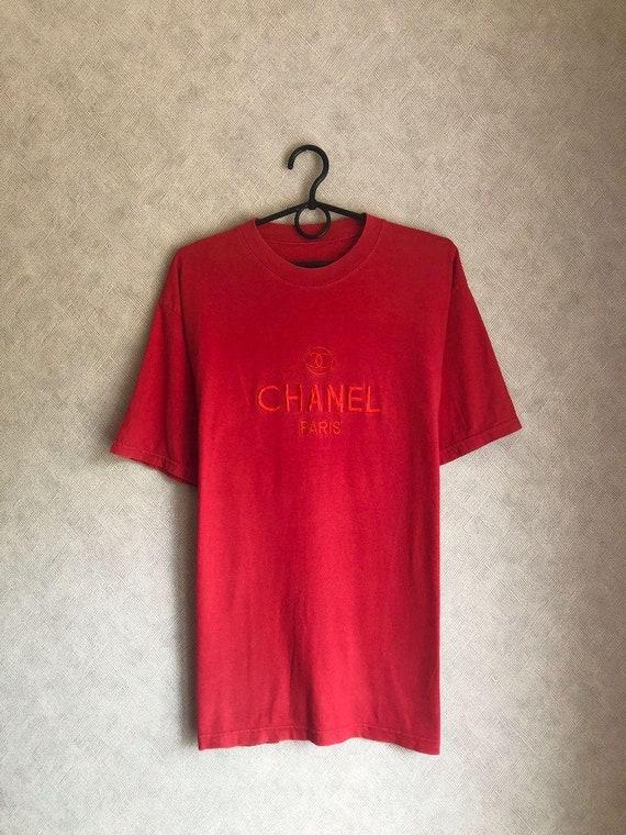 Chanel vintage shirt t-shirt rare 90s rare