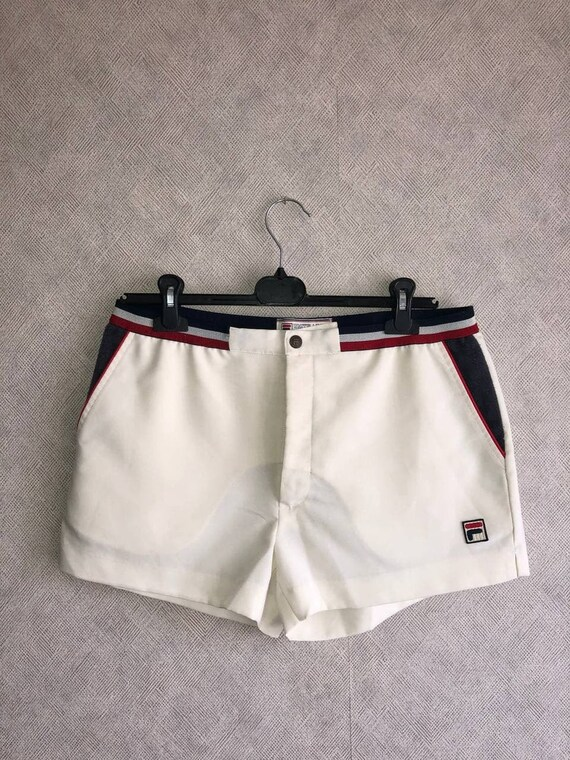 Vintage Fila Tennis Shorts White