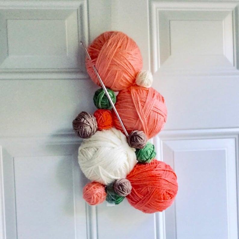 Welcome to my Peachy Stash Door Hanger
