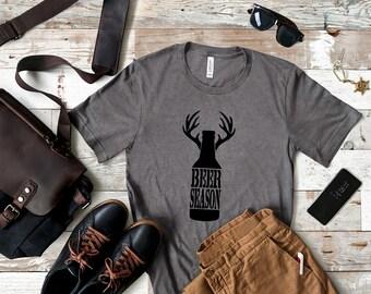 127441086 beer season shirt | hunting shirt | gift for hunter | hunting season shirt  | beer and hunting shirt | funny hunting shirt | gift for men