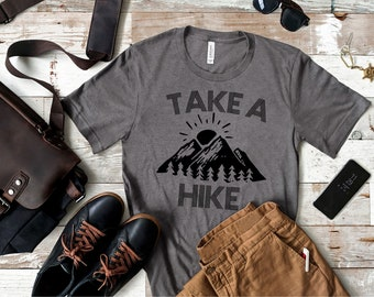 f532ec0b6 Take A Hike © (black design)| nature shirt | | adventure shirt | get  outdoors | get lost shirt | get outdoors shirt | travel shirts