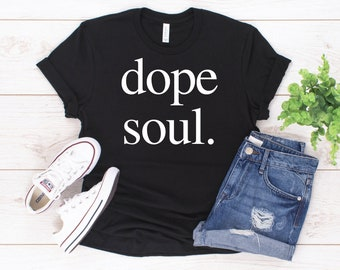 81f77e3e7 Dope Soul Triblend Shirt (white design) | dope tee | vintage graphic tee |  dope soul | trendy shirt | 208 tees | women fashion | women shir