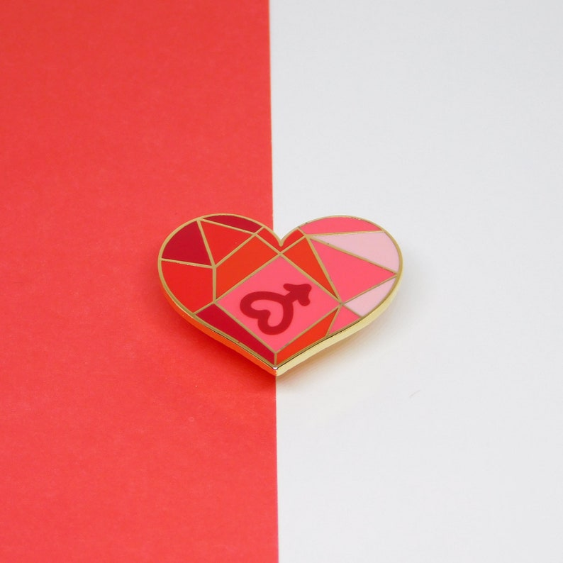 Magical girl hard enamel pin Sailor moon hard enamel pin Sailor scout hard enamel pin Mars Sailor mars hard enamel pin