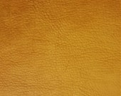 Leather Bison Hide Piece 3.5 SqFt Cognac