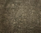Leather Bison Hide Piece 4.8 SqFt Black