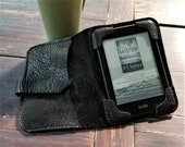 Bison Leather Kindle Cover - Fits 6.5 x 4.5 e-reader