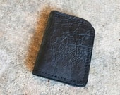 Bison Leather Vertical Wallet - The Jefferson