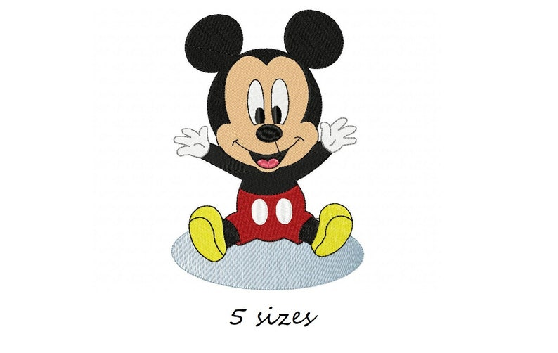 Baby Mickey Mouse Machine Embroidery Design, Embroidery boys, Disney  design, Baby design, boy Embroidery, Embroidery Mickey pattern