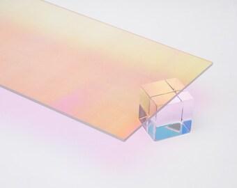 "Acrylic Sheet 1/8"" Radiant Iridescent #0B008 RT Plexiglas Plastic (DIY, Craft, Laser)"