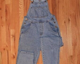 674c653372ef Vintage Denim Full Length Overalls Arizona Jean Company