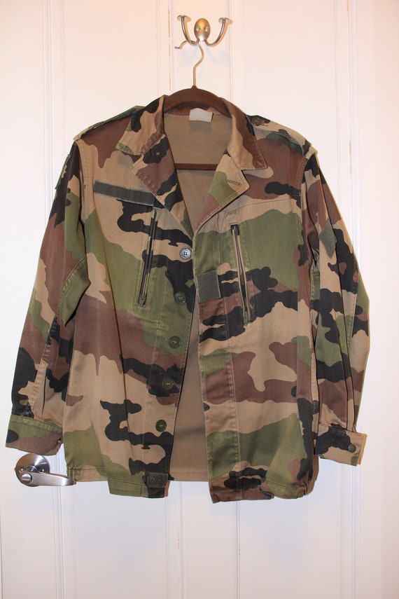 Vintage Army Camouflage Military Jacket