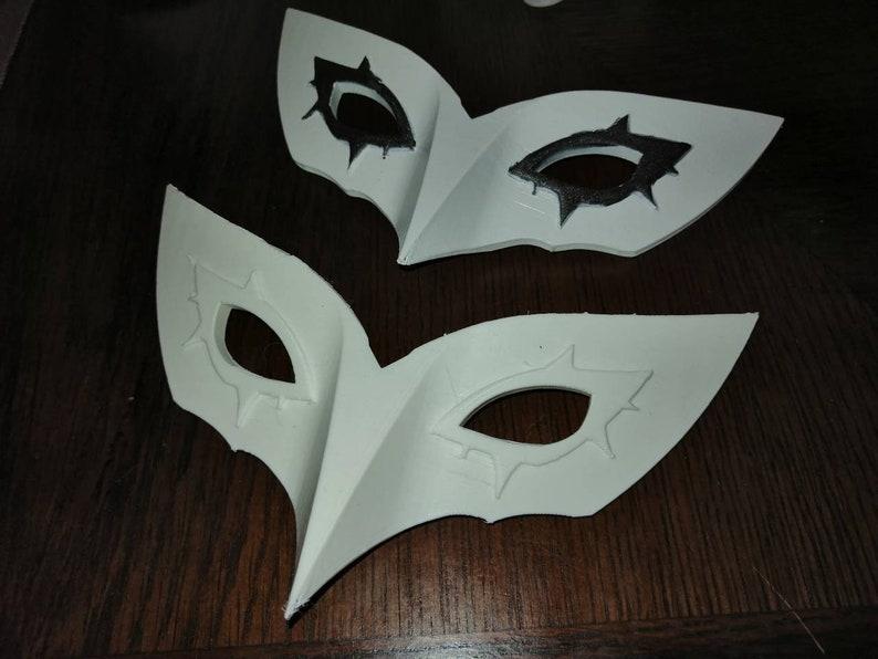 Persona 5 Joker Mask Cosplay Smash Bros