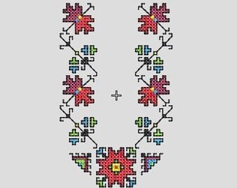National Bulgarian embroidery, Мachine embroidery, Cross stitch, Shevitsa