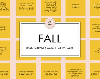 25 Fall Quotes Golden Instagram Posts Black and White Instagram Quotes Instagram Quotes Fall Autumn Quotes Social Media Posts