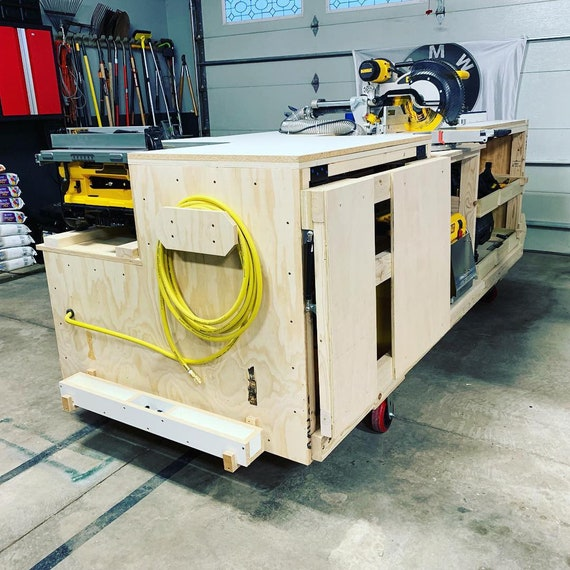Swell Pdf Mobile Project Center Workbench Plans Dewalt Kreg Miter Saw Stand Table Saw Outfeed Router Table Planer Stand Dust Collect Forskolin Free Trial Chair Design Images Forskolin Free Trialorg