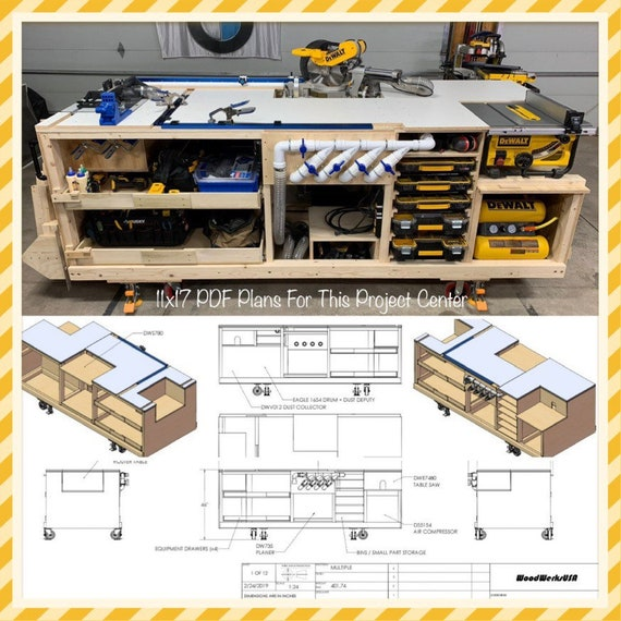 PDF Mobile Project Center Workbench Plans | DeWalt | Kreg | Miter Saw on diy wire ideas, diy lockers ideas, diy bicycle ideas, diy cupboard ideas, diy theme ideas, diy lights ideas, diy garage ideas, diy bucket ideas, diy workbench on wheels, diy workbench plans, diy garage workbench, diy hardware ideas, diy workbench organization, homemade tool storage ideas, diy workbench vise, diy wood workbench, workshop ideas, diy workbench drawings, diy build a workbench, diy sand ideas,