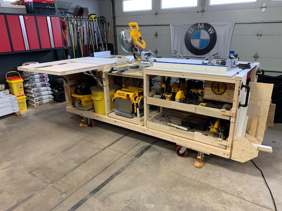 Admirable Pdf Mobile Project Center Workbench Plans Dewalt Kreg Miter Saw Stand Table Saw Outfeed Router Table Planer Stand Dust Collect Forskolin Free Trial Chair Design Images Forskolin Free Trialorg