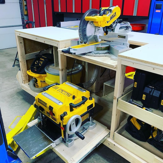 Fine Pdf Mobile Project Center Workbench Plans Dewalt Kreg Miter Saw Stand Table Saw Outfeed Router Table Planer Stand Dust Collect Uwap Interior Chair Design Uwaporg