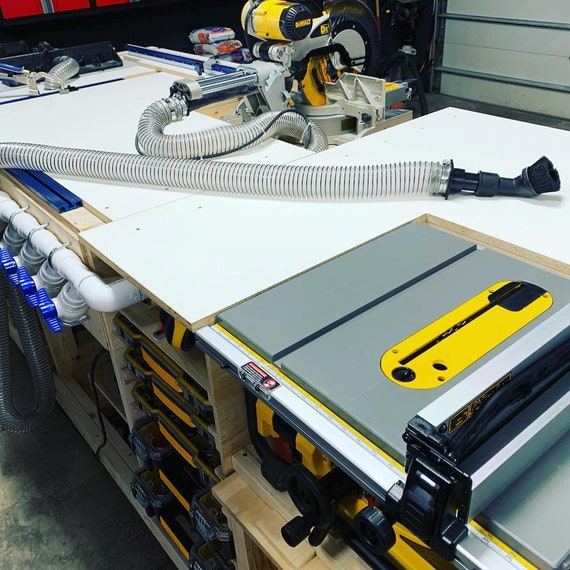 Wondrous Pdf Mobile Project Center Workbench Plans Dewalt Kreg Miter Saw Stand Table Saw Outfeed Router Table Planer Stand Dust Collect Uwap Interior Chair Design Uwaporg