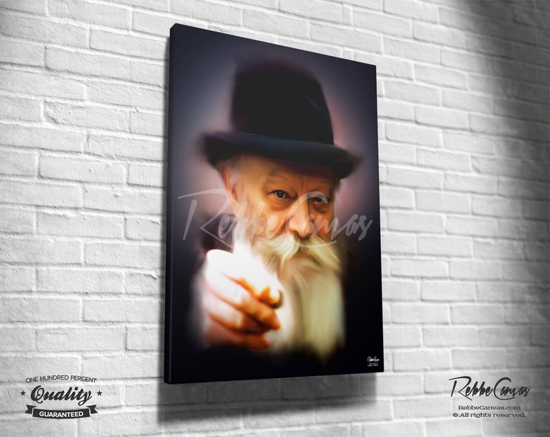 Beautiful Jewish Portrait  GIVE  Original Digital painting image 0
