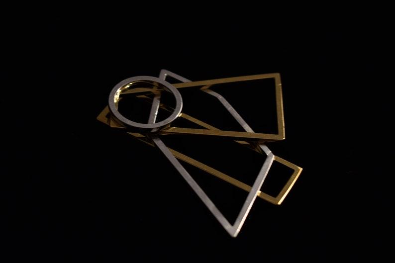 Modernist Jewelry Personalized Geometry Necklace Geometry Balance Sacred Geometry Pendant Jewelry From Spain Personalized Jewelry