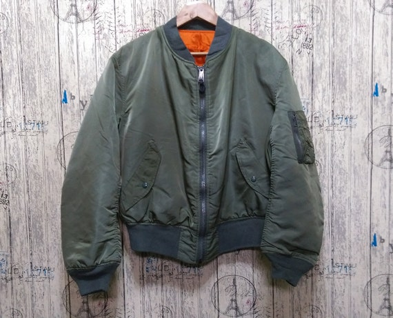 Vintage Alpha Industries Flying jacket Made in USA