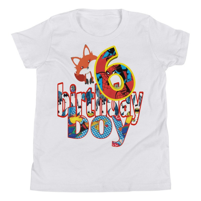 Birthday Boy Shirts 6 Tshirt Ideas Kids Boys