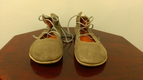 Vintage Camper Leather shoes, Camper Allcanto  lea