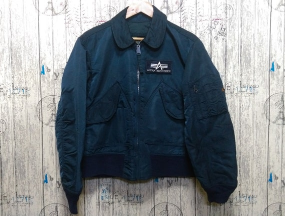 Vintage Alpha Industries Flying intermediate Made