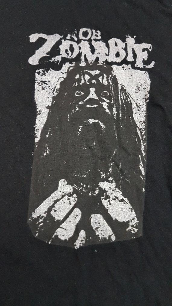 Vintage Rob Zombie Horror T-Shirt/ Rare  black t-s