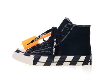 Custom Converse High X Virgil Abloh Off White 0f38b5072