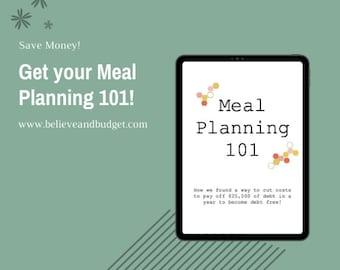 Meal Planning 101 Bundle