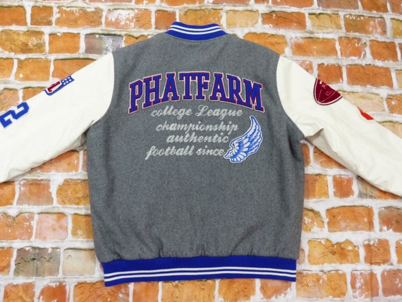 Phat Farm Collegejacke 1992 Football